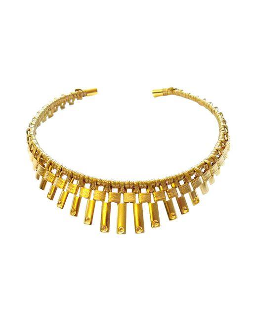 Vanina   Metallic Necklace   Lyst