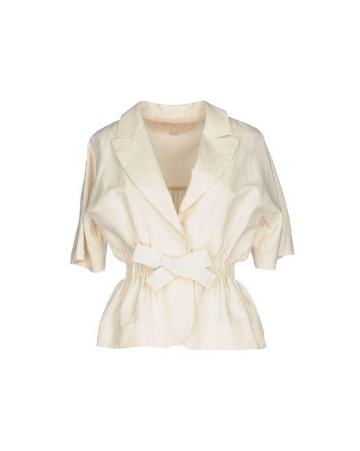 Giambattista Valli | White Blazer | Lyst
