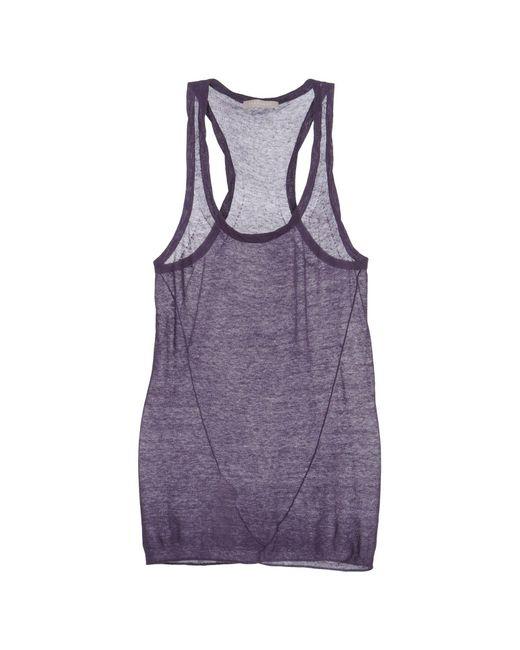 Stefanel - Purple Top - Lyst