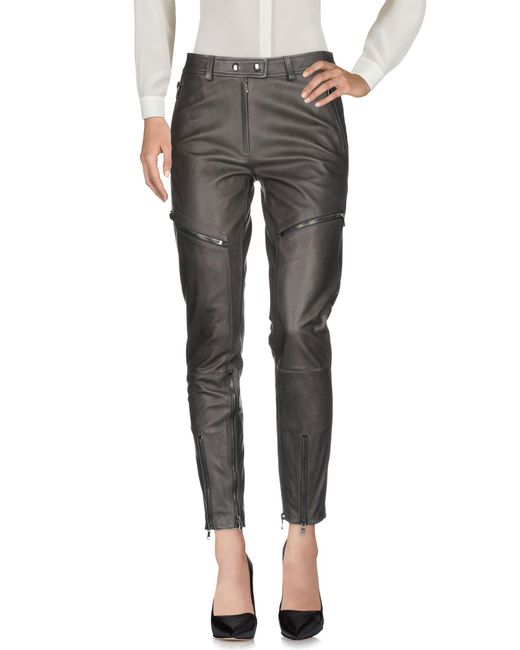 Moschino - Gray Casual Trouser - Lyst