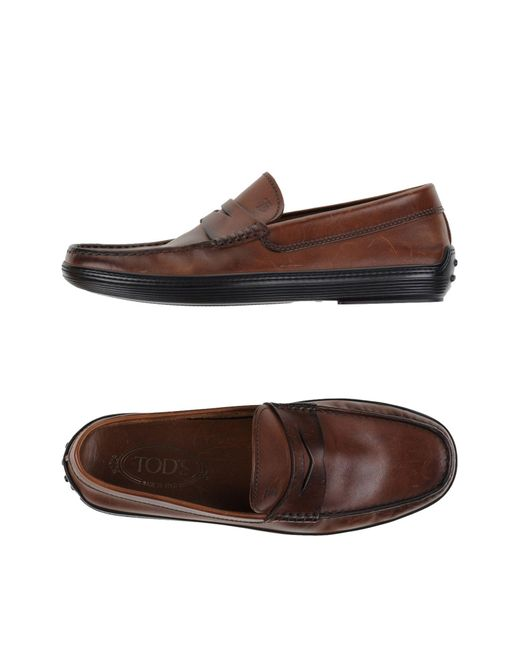 Tod's | Brown Moccasins for Men | Lyst