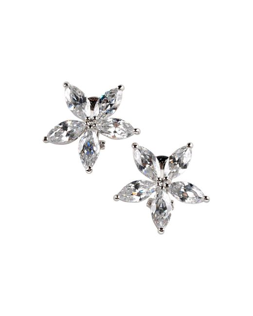 CZ by Kenneth Jay Lane | White Earrings | Lyst