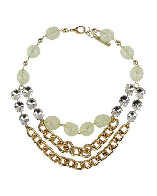 Angelo Marani   Metallic Necklace   Lyst
