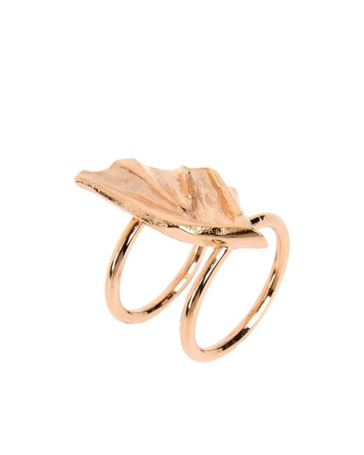 Tamara Akcay | Metallic Ring | Lyst