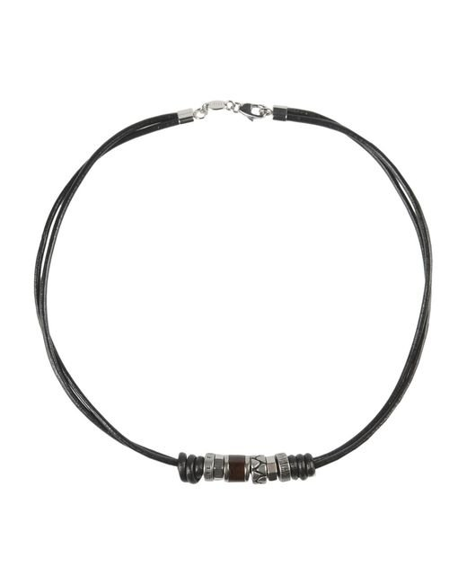 Fossil | Black Necklace for Men | Lyst
