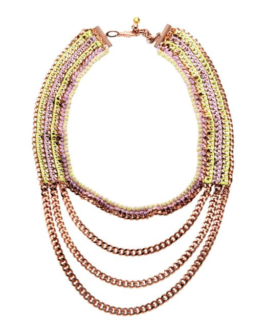 Venessa Arizaga | Purple Necklace | Lyst