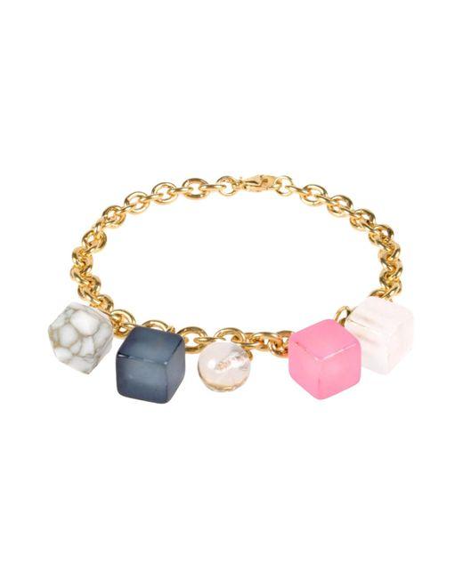 Lily Kamper | Pink Bracelet | Lyst