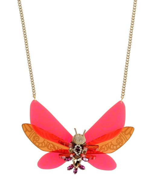 Matthew Williamson | Red Necklace | Lyst
