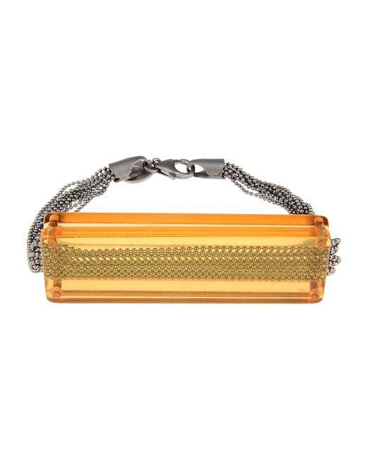 MM6 by Maison Martin Margiela | Orange Bracelet | Lyst
