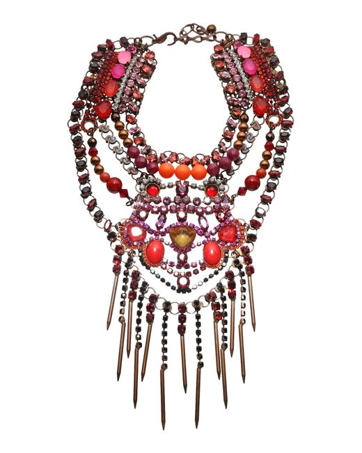 Vicki Sarge | Red Necklace | Lyst