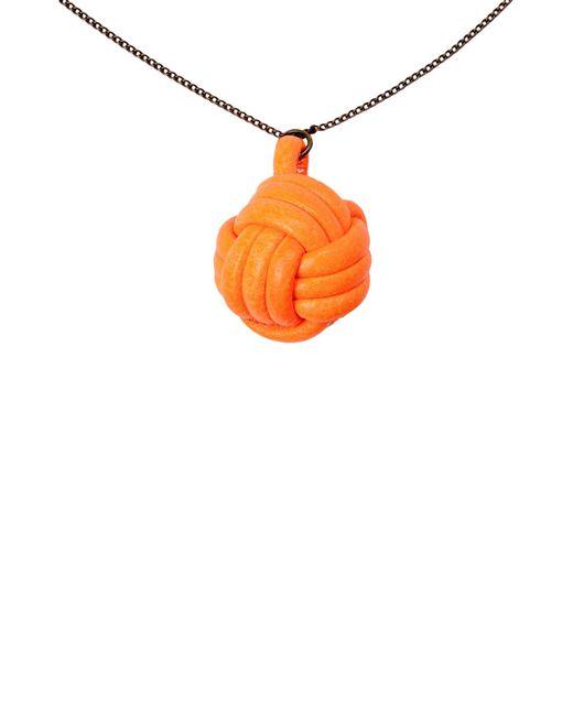 Malababa | Orange Necklace | Lyst