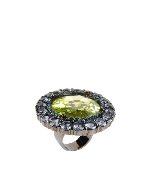 Noir Jewelry | Green Ring | Lyst