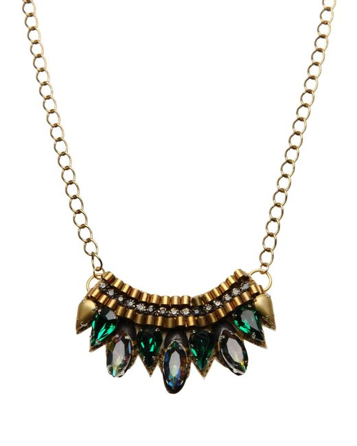 Deepa Gurnani | Metallic Necklace | Lyst