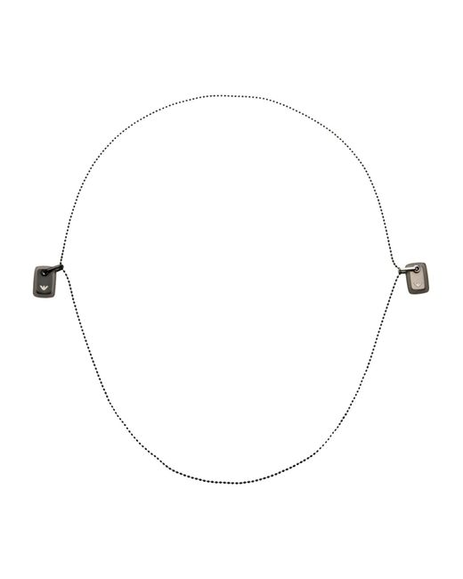 Emporio Armani | Metallic Necklace | Lyst
