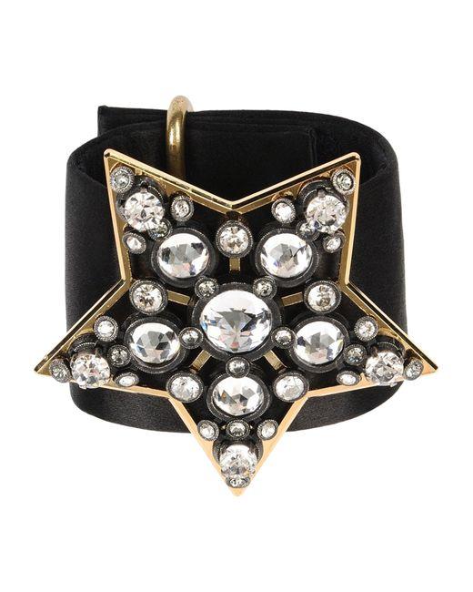 Lanvin | Black Bracelet | Lyst