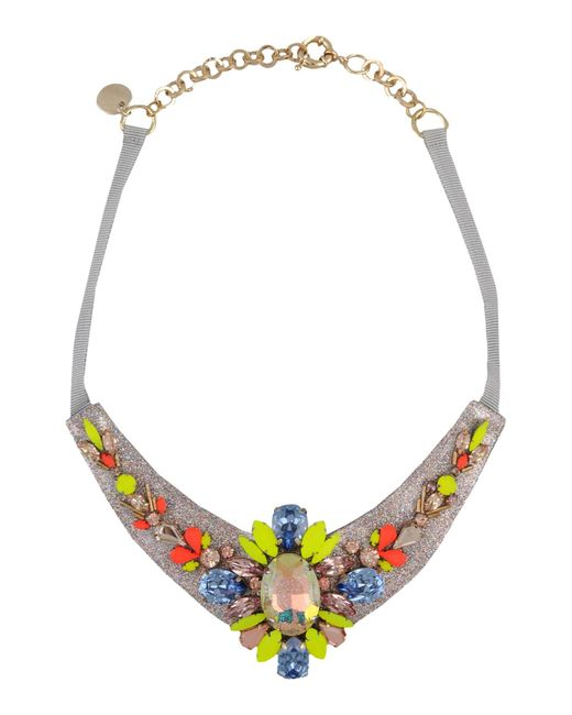 Matthew Williamson | Gray Necklace | Lyst