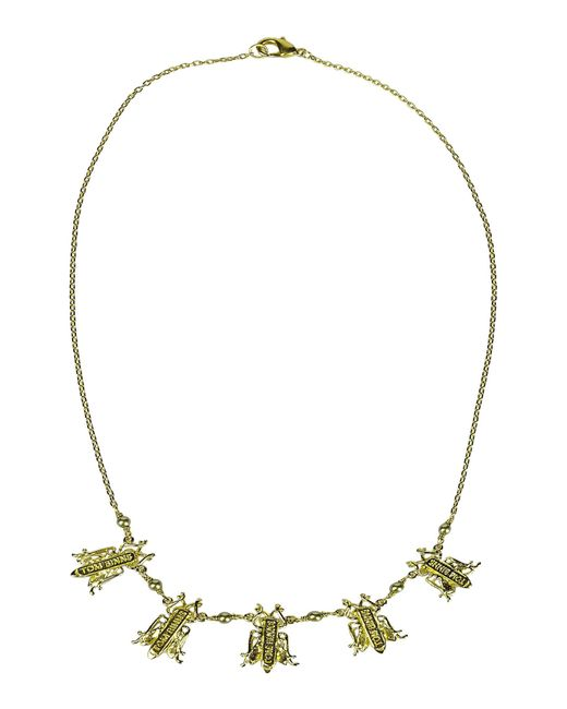Tom Binns | Metallic Necklace | Lyst