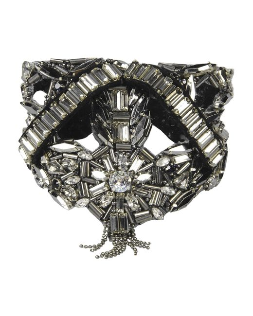 Deepa Gurnani   Metallic Bracelet   Lyst