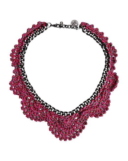 Venessa Arizaga | Pink Necklace | Lyst
