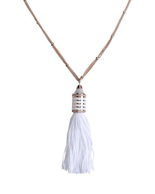 Eddie Borgo | White Necklace | Lyst