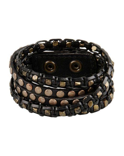 Replay | Metallic Bracelet | Lyst