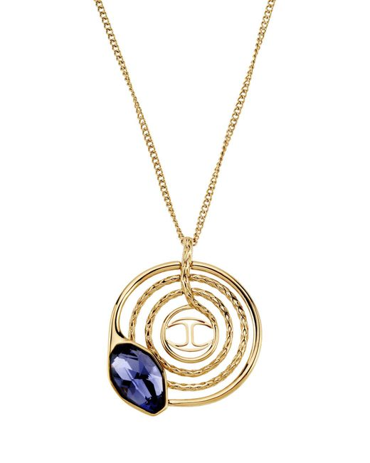 Just Cavalli | Blue Necklace | Lyst