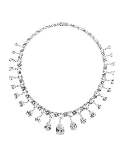 CZ by Kenneth Jay Lane   Metallic Necklace   Lyst