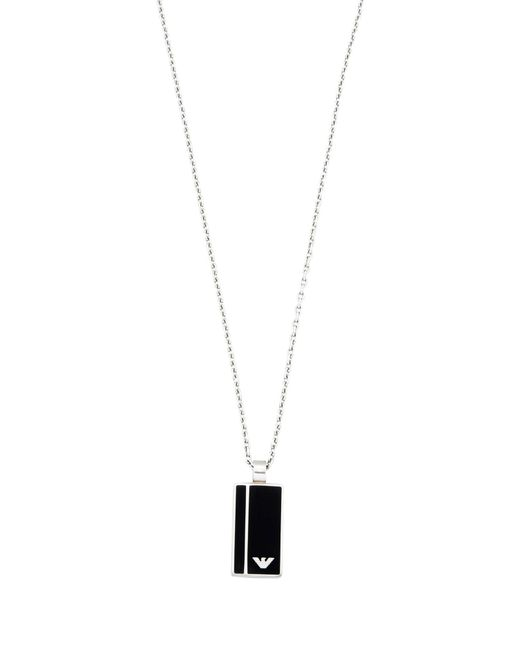 Emporio Armani | Metallic Necklace for Men | Lyst