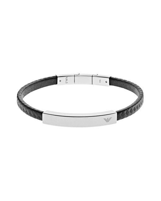 Emporio Armani | Metallic Bracelet for Men | Lyst