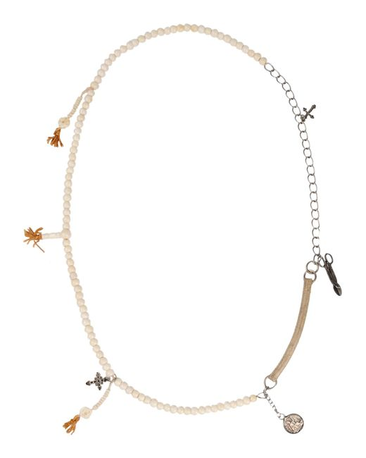 Twin Set   White Necklace   Lyst