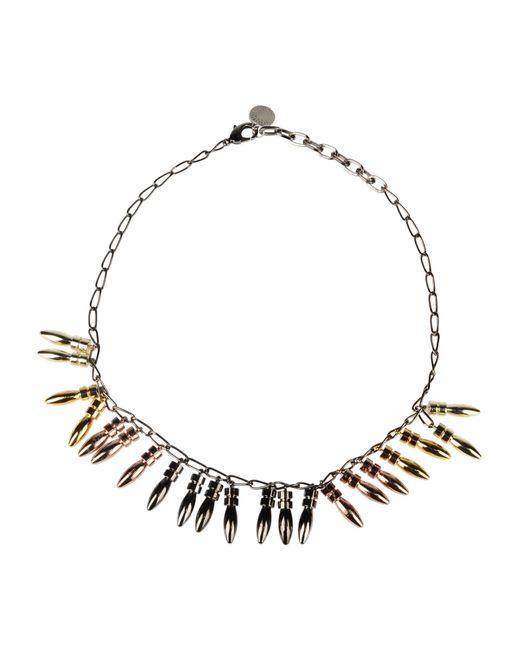 Gemma Redux | Metallic Necklace | Lyst