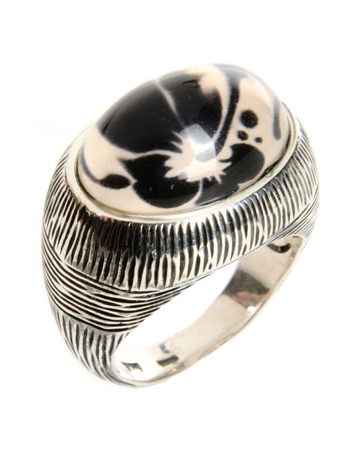 First People First   Metallic Ring   Lyst