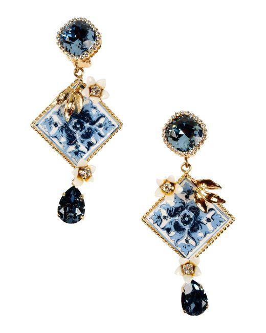 Dolce & Gabbana | Metallic Earrings | Lyst
