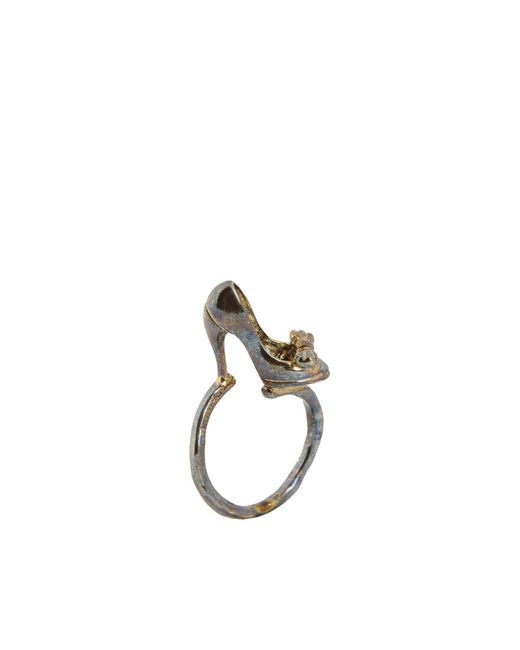 Miniac | Metallic Ring | Lyst