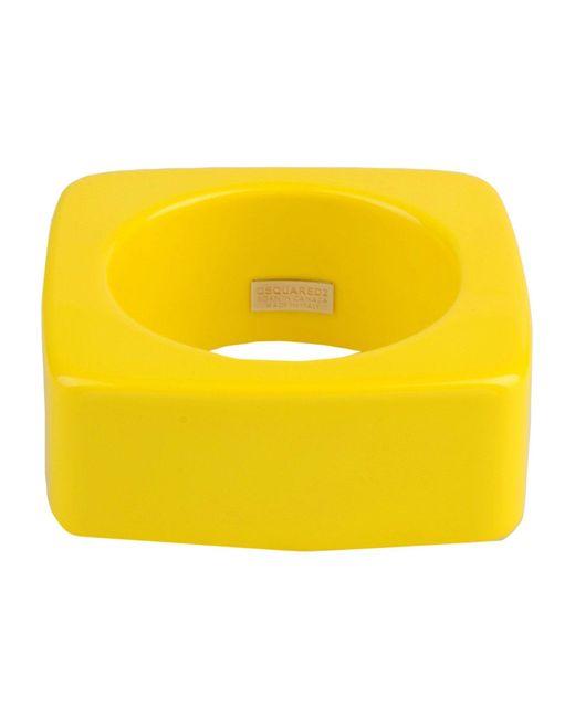 DSquared² | Yellow Bracelet | Lyst