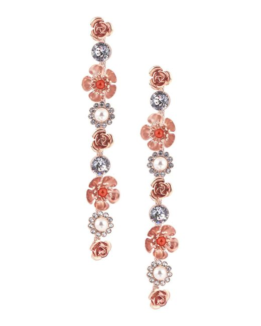 Ca&Lou   Red Earrings   Lyst
