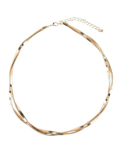 Kenneth Jay Lane | Metallic Necklace | Lyst