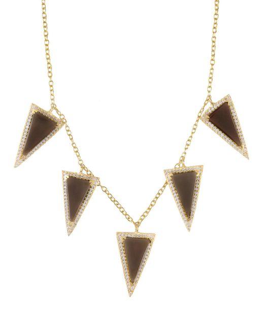 Kevia | Metallic Necklace | Lyst