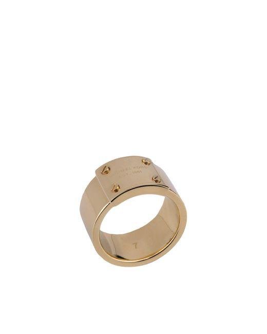 MICHAEL Michael Kors   Metallic Ring   Lyst
