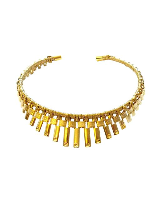 Vanina | Metallic Necklace | Lyst