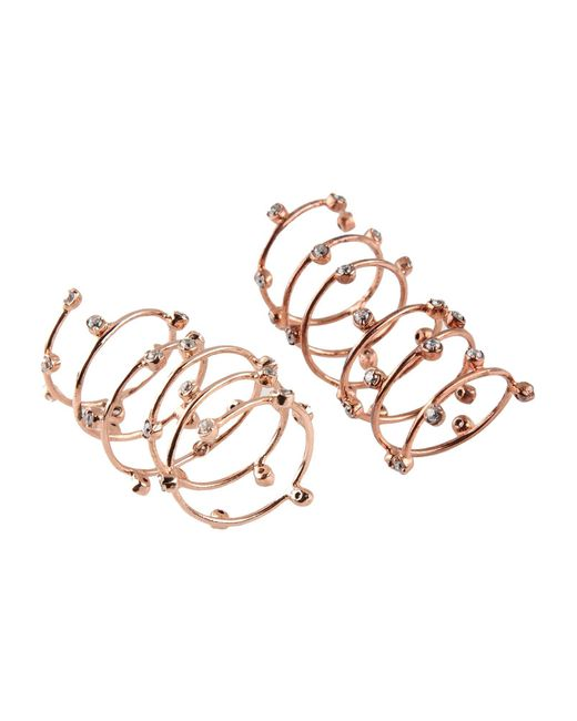 Joanna Laura Constantine   Metallic Ring   Lyst