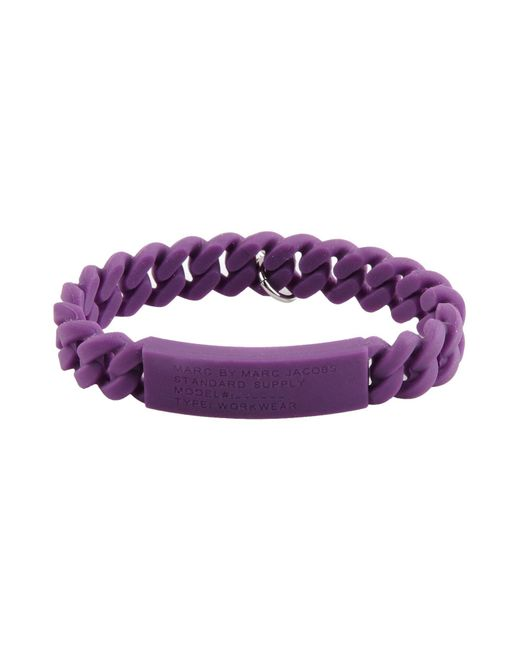 Marc By Marc Jacobs   Purple Bracelet   Lyst