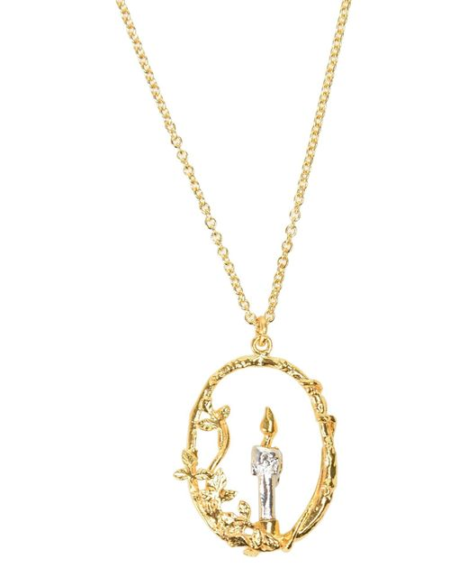 Alex Monroe | Metallic Necklace | Lyst