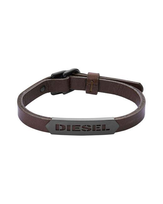 DIESEL | Brown Bracelet for Men | Lyst
