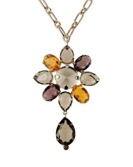 Alberta Ferretti | Metallic Necklace | Lyst