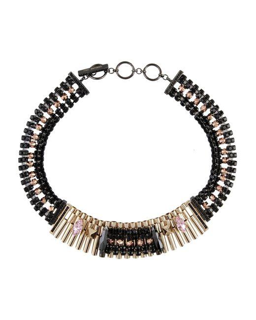 Iosselliani | Black Necklace | Lyst