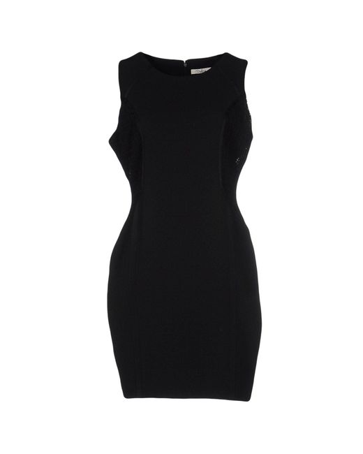 Darling - Black Short Dress - Lyst