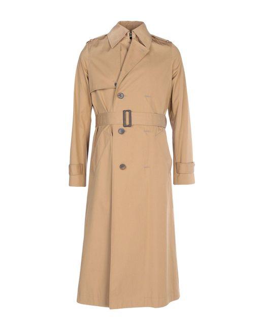 Balenciaga - Natural Overcoats for Men - Lyst