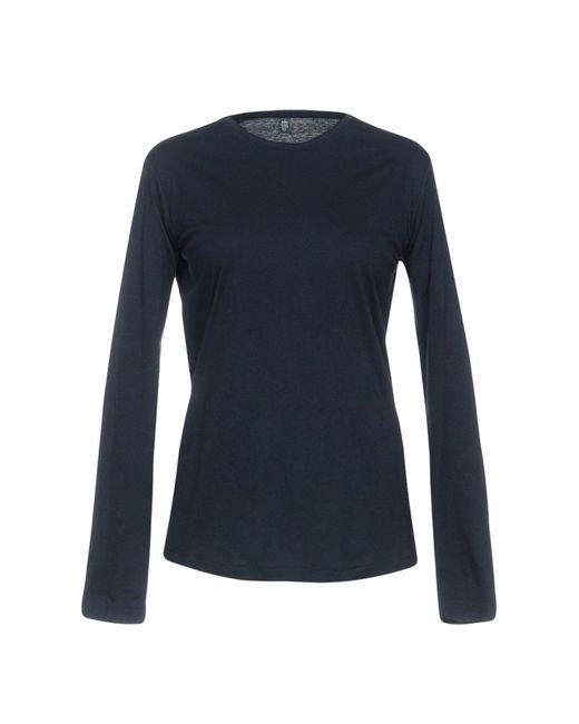 Eleventy - Blue T-shirt - Lyst