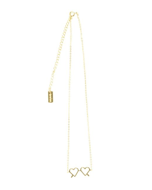 Vanina - Metallic Necklace - Lyst